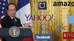Hollande va dans la Silicon Valley et n'y a pas que des