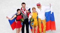 Sotchi 2014: Doublé russe chez les couples en patinage