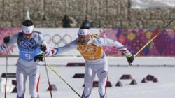 Médaille de bronze pour les Français au relais 4x10 km de ski de
