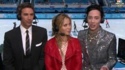Les tenues excentriques du champion américain Johnny Weir