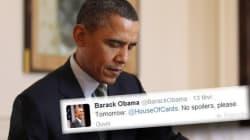 Non Obama n'a pas tweeté sur