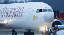 Hijacked Plane Lands In