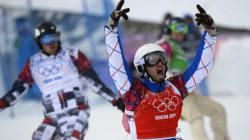Pierre Vaultier champion olympique de