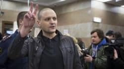 Le chef de la gauche russe jugé pour «troubles