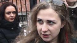 Deux activistes de Pussy Riot arrêtées puis relâchées à