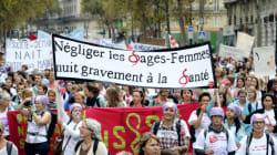 Après quatre mois de grève, les sages-femmes redescendent dans la