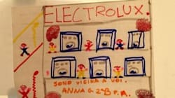 Electrolux, i bambini disegnano la