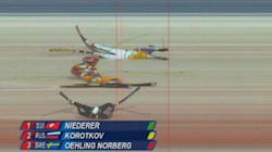 La meilleure «photo-finish» des