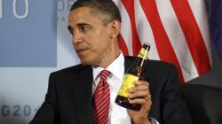 Obama et le Premier ministre canadien parient des bières sur le