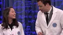 Jimmy Fallon Wowed By Victoria