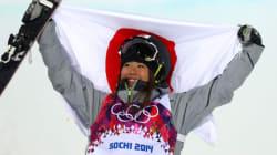 小野塚彩那、銅メダル 新種目スキー女子ハーフパイプ【ソチオリンピック】