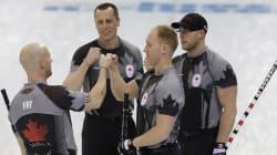 Sotchi 2014: le Canada remporte l'or en curling, un 3e titre