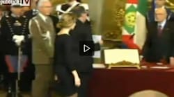 Madia giura col pancione (VIDEO,