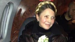 Ioulia Timochenko, en larmes, salue à Kiev «les héros de