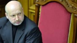 Le président ukrainien par intérim fait de l'intégration avec l'Europe sa