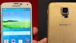 Les premières images du Galaxy S5 ont
