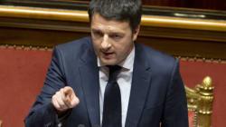 Renzi replica al Senato prima del voto di fiducia