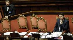 In serata Renzi maltratta il Senato