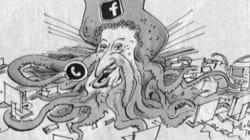 Zuckerberg come una piovra,
