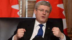 Harper To Ukraine: Forget Your