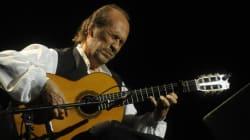 Le guitariste de flamenco Paco de Lucia est