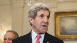John Kerry en Jordanie pour discuter de la paix au