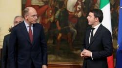 Letta-Renzi prove di