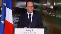 Hollande est arrivé en