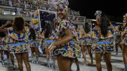Le carnaval de Rio est lancé