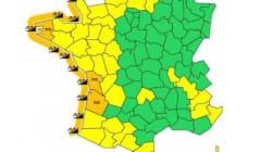 Tempête Christine: 11 départements en alerte