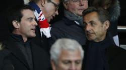 Sarkozy et Valls ensemble dans les