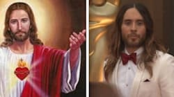 Jared Leto Dressed Up As Jesus For The