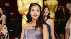 Kerry Washington's Elegant Oscar Baby