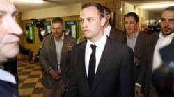 Oscar Pistorius est arrivé au