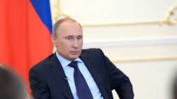 Poutine parle pour la première fois depuis la chute de
