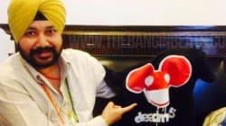 Deadmau5 Fanboys Over Bhangra Superstar Daler
