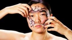 La prodige du «body painting» Hikaru Cho réalise une campagne pour Amnesty