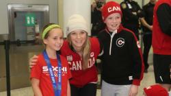 WATCH: Dara Howell Enjoying Gold Medal