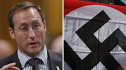 MacKay Not Laughing At Nazi