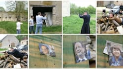 Un candidat affichait des tirs à la carabine sur des portraits de
