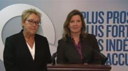 Élections 2014: Marois ajoute une pharmacienne à son équipe