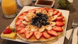 写真でハワイの魅力をお届けする-ハワイの絶品パンケーキ