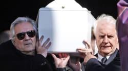 Le monde du cinéma aux obsèques d'Alain