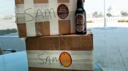 Obama Delivers On Hockey Beer