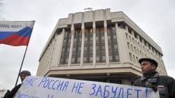 Ukraine: Le Parlement de Crimée vote son
