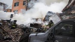 Deux immeubles s'écroulent après une explosion à New