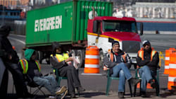 Truckers' Strike Leads To Wine