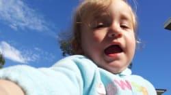 Baby Selfies: une appli qui permet aux bébés de prendre des