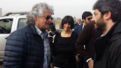 Grillo a Milano in visita ai cantieri Expo 2015 (TWEET,