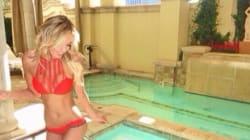 Paulina Gretzky Slips Into Tiny